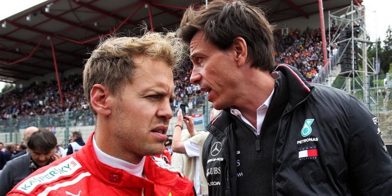 Toto Wolff diz não estar envolvido nas negociações sobre ida de Vettel para Aston Martin
