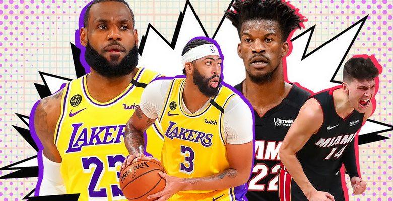Los Angeles Lakers e Miami Heat jogam as finais da NBA 2020