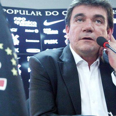 Andrés Sanchez deixa presidência do Corinthians