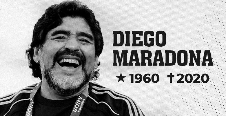 Diego Maradona morre aos 60 anos, país decreta Luto Oficial