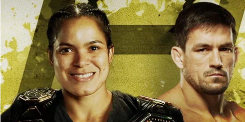 """Brasileiros Amanda Nunes e Demian Maia são premiados no """"Oscar do MMA"""""""