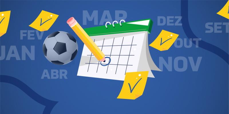 Confira o calendário de 2021 do futebol com Brasileirão, Libertadores, Copa América entre outros