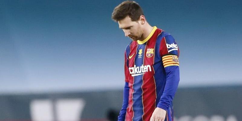 Messi pega suspensão após jogo da final da Supercopa da Espanha