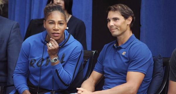 Nadal e Serena repesam participação nas Olimpíadas de Tóquio