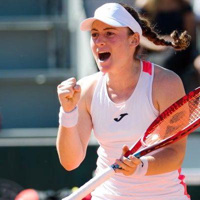 Tênis: Eslovena garante primeira vaga na semifinal de Roland Garros