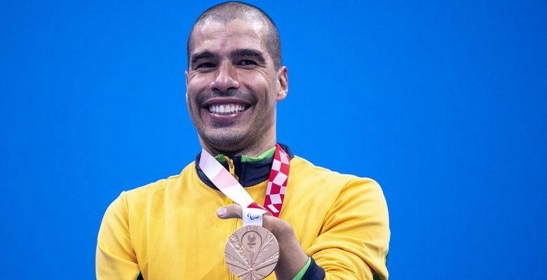 Tóquio 2020: Daniel Dias conquista mais uma medalha e chega a 26 medalhas paralímpicas